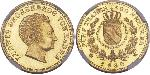 5 Thaler Grand Duchy of Baden (1806-1918) Gold Louis I, Grand Duke of Baden (1763 - 1830)