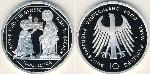 10 Mark Repubblica Federale di Germania (1990 - ) Argento
