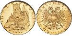 25 Shilling Federal State of Austria (1934-1938) Oro
