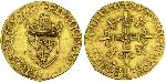 1/2 Ecu Kingdom of France (843-1791) Gold Francis I of France (1494 - 1547)