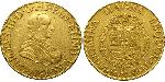 8 Escudo Spanish Mexico  / Kingdom of New Spain (1519 - 1821) Gold Charles III of Spain (1716 -1788)