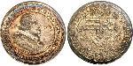 1 Thaler Holy Roman Empire (962-1806) Silver Leopold V, Archduke of Austria (1586 – 1632)