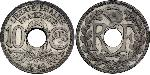 10 Centime Vichy France (1940-1944) / French Third Republic (1870-1940)  Zinc/Copper-Nickel/Nickel
