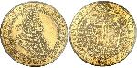 5 Ducat Habsburgermonarchie (1526-1804) Gold Leopold I, Holy Roman Emperor (1640-1705)
