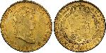 8 Escudo First Mexican Empire (1821 - 1823) Gold Ferdinand VII of Spain (1784-1833)