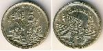 5 Peseta Kingdom of Spain (1976 - ) Aluminium-Bronze Juan Carlos I of Spain (1938 - )