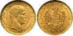 20 Drachma Kingdom of Greece (1832-1924) Gold George I of Greece (1845- 1913)