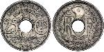 25 Centime French Third Republic (1870-1940)  Nickel/Copper-Nickel
