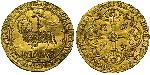 1 Franc Kingdom of France (843-1791) Gold John II of France (1319-1364)