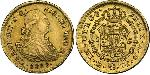 1 Escudo Spanish Mexico  / Kingdom of New Spain (1519 - 1821) Gold Charles IV of Spain (1748-1819)