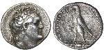 1 Tetradrachm Ptolemaic Kingdom (332BC-30BC) Silber Ptolemaios II. Philadelphos (309BC-246BC)