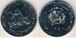 1 Peso Dominican Republic Copper-Nickel
