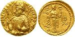1 Dinar Kushan Empire (60-375) Gold Huvishka (?-180)