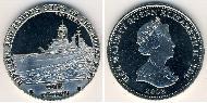 1 Krone Vereinigtes Königreich (1922-) Kupfer-Nickel Elizabeth II (1926-)