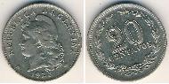 20 Centavo Argentina (1861 - ) Rame-Nichel