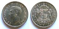 1 Crown United Kingdom (1922-) Silver George VI (1895-1952)