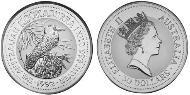 30 Dollar Australien (1939 - ) Silber Elizabeth II (1926-)
