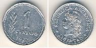 1 Centavo Argentina (1861 - ) Alluminio
