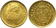 1 Escudo Chile Gold Ferdinand VII of Spain (1784-1833)
