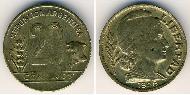 20 Centavo Argentina (1861 - ) Bronzo