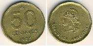 50 Centavo Argentina (1861 - ) Ottone
