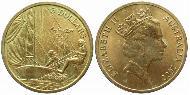 5 Dollar Australia (1939 - ) Aluminium-Bronze Elizabeth II (1926-)