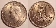 1 Shilling United Kingdom (1922-) Copper-Nickel George VI (1895-1952)