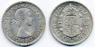 1/2 Crown United Kingdom (1922-) Copper-Nickel Elizabeth II (1926-)