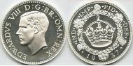 1 Crown United Kingdom (1922-) Silver Edward VIII (1894-1972)