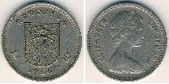 1 Shilling / 10 Cent Rhodesia (1965 - 1979) Copper-Nickel Elizabeth II (1926-)