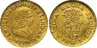 1 Escudo Colombia Gold Charles III of Spain (1716 -1788)