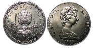 1 Krone Isle of Man Kupfer-Nickel Elizabeth II (1926-)