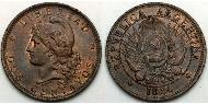 2 Centavo Argentina (1861 - )