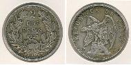 2 Peso Chile Silver