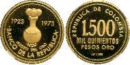 1500 Peso Colombia Gold