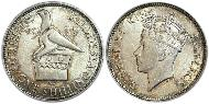 1 Shilling United Kingdom (1922-) Silver George VI (1895-1952)