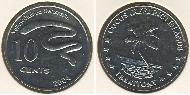 10 Cent Cocos (Keeling) Islands Copper-Nickel