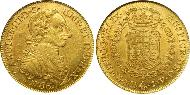 8 Escudo Colombia Gold Charles III of Spain (1716 -1788)