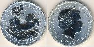2 Pound Vereinigtes Königreich (1922-) Silber Elizabeth II (1926-)