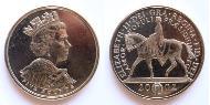 5 Pound Vereinigtes Königreich (1922-) Kupfer-Nickel Elizabeth II (1926-)
