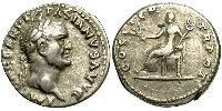1 Denier Empire romain (27BC-395) Argent Vespasien (9-79)