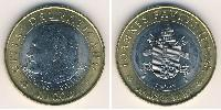 1000 Lira Vatican (1926-) Bimetal