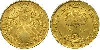 4 Escudo Federal Republic of Central America (1823 - 1838) / Costa Rica Gold