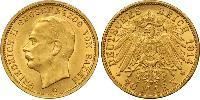 20 Mark Grand Duchy of Baden (1806-1918) / German Empire (1871-1918) Gold Frederick II, Grand Duke of Baden (1857 - 1928)