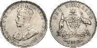 1 Shilling Australia (1788 - 1939) Silver George V of the United Kingdom (1865-1936)