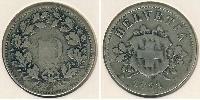 10 Rappen Switzerland Silver