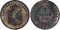 2 Zloty Royaume du Congrès (1815-1915) Argent