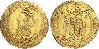 1 Unite Kingdom of England (927-1649,1660-1707) Gold James I (1566-1625)