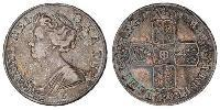 1/2 Crown Kingdom of Great Britain (1707-1801) Silver Anne (1665-1714)