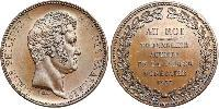 5 Franc July Monarchy (1830-1848) Bronze Louis Philippe I of France (1773 -1850)